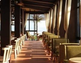 Sử dụng quạt trần nhà hàng cao cấp của LUXURYFAN